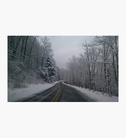 snow day Photographic Print