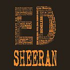 Ed Sheeran - Iphone Case  by sullat04