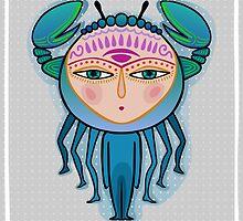 cancer zodiac sign by nuanz