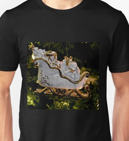 Christmas Sleigh Ornament  Unisex T-Shirt