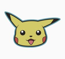 Pikachu Pokemon Minimal Design First Generation Sticker Shirt by Jorden Tually