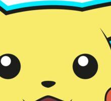 Pikachu Pokemon Minimal Design First Generation Sticker Shirt Sticker