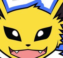 Jolteon Pokemon Minimal Design First Generation Sticker Shirt Sticker