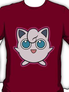 Jigglypuff Pokemon Minimal Design First Generation Sticker Shirt T-Shirt