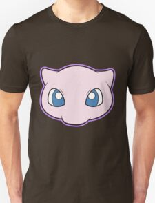 Mew Pokemon Minimal Design First Generation Sticker Shirt T-Shirt