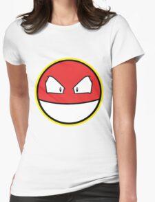 VOLTROB Pokemon Minimal Design First Generation Sticker Shirt Womens Fitted T-Shirt