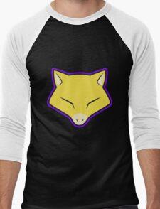 ABRA Pokemon Minimal Design First Generation Sticker Shirt Men's Baseball ¾ T-Shirt