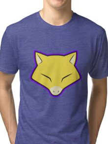 ABRA Pokemon Minimal Design First Generation Sticker Shirt Tri-blend T-Shirt