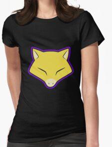 ABRA Pokemon Minimal Design First Generation Sticker Shirt Womens Fitted T-Shirt