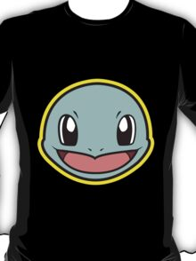 SQUIRTLE Pokemon Minimal Design First Generation Sticker Shirt T-Shirt