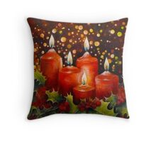 Christmas 2012 Throw Pillow