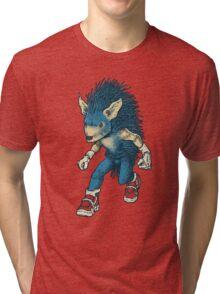 Sonic The Hedgehog Tri-blend T-Shirt