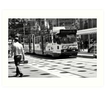 Bourke Street Mall Art Print