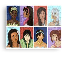 Princesses of color Metal Print