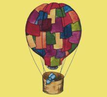 Hot Air Balloon Dog Kids Clothes