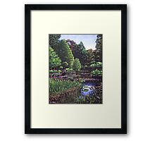 Southampton Hillier Gardens Framed Print