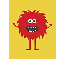 Funny Cute Monster Photographic Print