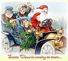 Santa Claus is coming to town... by ©The Creative  Minds