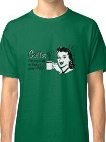 Coffee - Retro Tee Classic T-Shirt