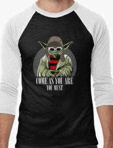 Come As You Are You Must Men's Baseball ¾ T-Shirt
