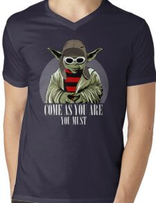 Come As You Are You Must Mens V-Neck T-Shirt