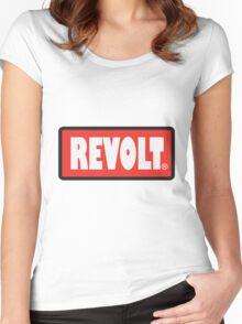 REVOLT Women's Fitted Scoop T-Shirt