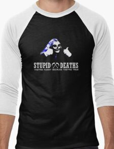 Horrible Histories - Stupid Deaths Men's Baseball ¾ T-Shirt