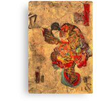 Holi Festival of Colours Canvas Print