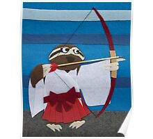 Gracie the Sloth - Shrine Maiden Poster