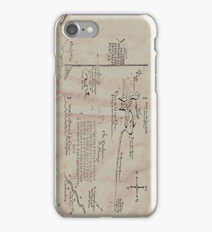 Thror's map iPhone Case/Skin