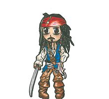 Captain Jack Sparrow by tonito21