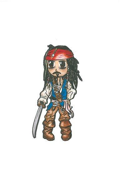 Captain Jack Sparrow by Tony Heath