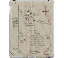 Thror's map iPad Case/Skin