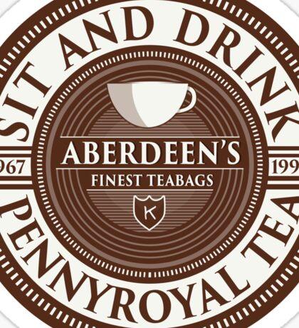 Pennyroyal Tea Sticker