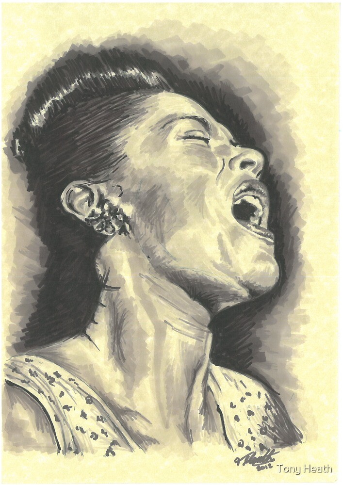 Billie Holiday by Tony Heath