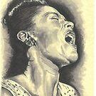 Billie Holiday by Tony Heath