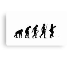 Evolution of Man - Gangnam Style Canvas Print