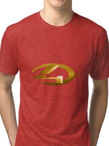 Halo 4 Gold Tri-blend T-Shirt
