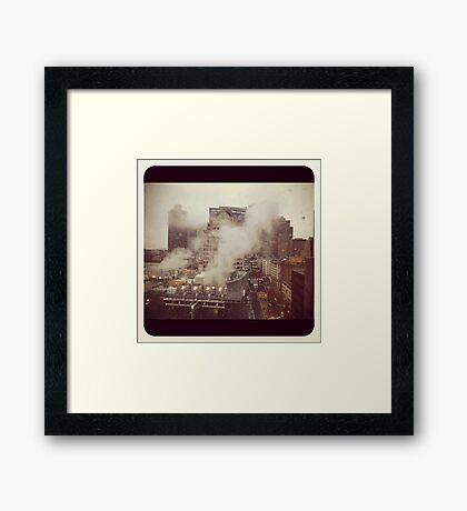 Boston.  A city breathing.  #2 Framed Print