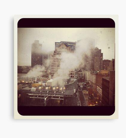 Boston.  A city breathing.  #2 Canvas Print