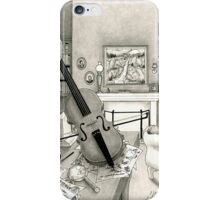 Violin and Sitting-Room iPhone Case/Skin