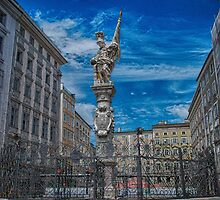 Mozartplatz, Salzburg Austria by Duplisea