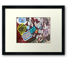 Graffiti  Framed Print