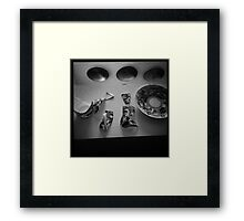 Russian Teacup Incident. Framed Print