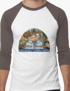 SMELLS NETWORK Men's Baseball ¾ T-Shirt