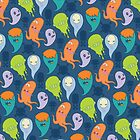 Ghost Pattern Case by Noth