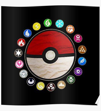 Pokemon - Pokeball Poster