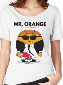 Mr. Orange (Mr. Men versus Reservoir Dogs) Women's Relaxed Fit T-Shirt
