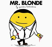 Mr. Blonde (Mr. Men versus Reservoir Dogs) Unisex T-Shirt