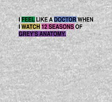 Like a doctor Womens Fitted T-Shirt